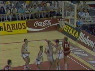 1986 год. Чемпионат мира по баскетболу. Полуфинал СССР - Югославия